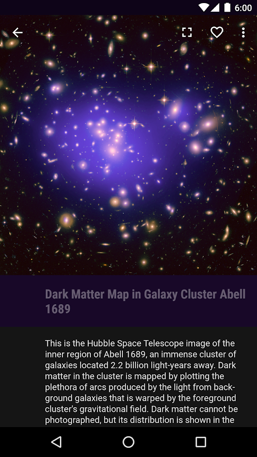 Hubble Gallery- screenshot