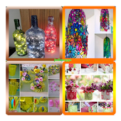 Botellas de ideas del arte