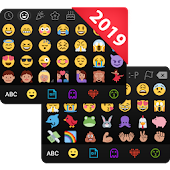 ??Emoji keyboard - Cute Emoticons, GIF, Stickers Icon