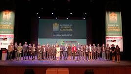 Premiados, organizadores e instituciones tras la gala de los XVII Premios del Poniente Almeriense.