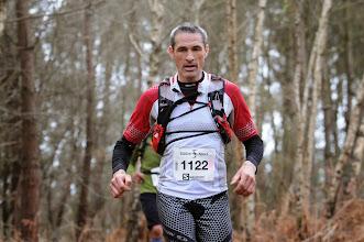 Photo: Course hors stade  22/03/2014  Trail des Trois Chapelles Bains-sur-Oust  43 km  Jérôme Nayrat  Sobhi Sport