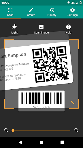 QR & Barcode Reader screenshot 1