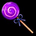 紫のロリポップステッキ
