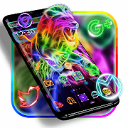 App Neon Lion Cool Theme APK for Windows Phone