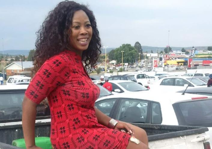 Skolopad's car was a complete write-off after the accident.