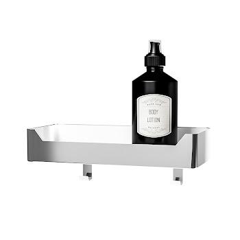 Tablette de douche murale, étagère 32 x 13,5 x 6 cm