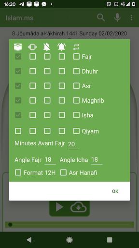 Islam.ms Prayer Times Qibla finder Locator Compass screenshot 4