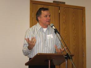 """Photo: Speaker, Rick Katsfy on """"Northwest Arkansas Weather"""""""