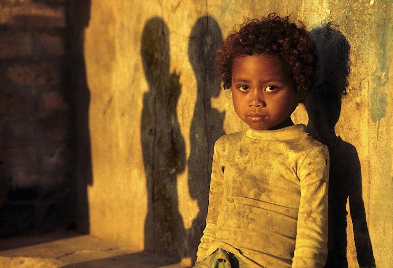 Bambina malgascia di rik