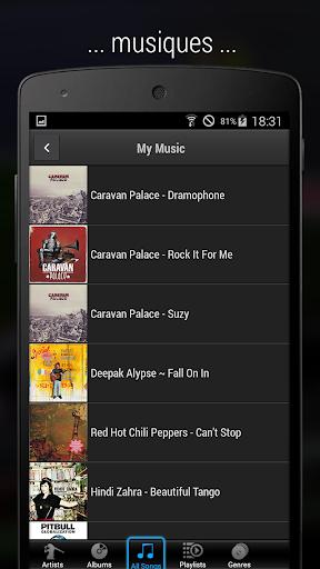 iMediaShare – Photo et musique screenshot 4