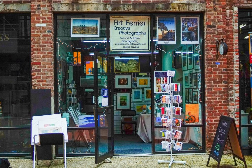 Art Ferrier Photography: Store front