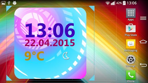 Weather Clock Widget  screenshots 6