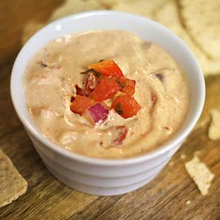 Healthy Vegan Queso Dip (Dairy-free, Soy-free).