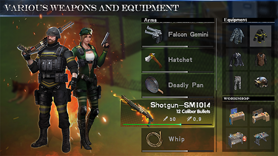 WarZ: Law of Survival MOD 1.8.7 (Unlimited Weapon/Armor) Apk + Data 3