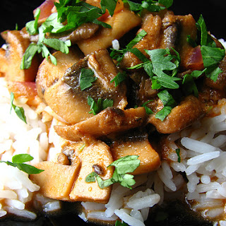 Indian Vegetarian Mushroom Curry Recipes