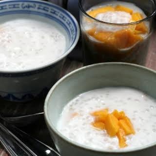 Mango Sago Pudding.