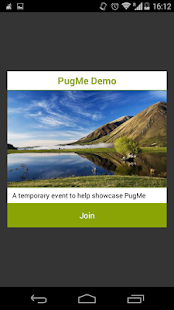 PugMe Events- screenshot thumbnail