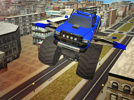 Flying Truck Pilot Driving 3D screenshots 7