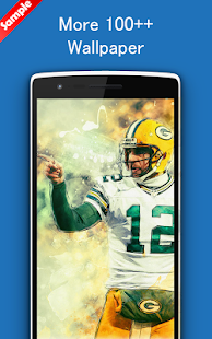Aaron Rodgers Wallpaper Art NFL