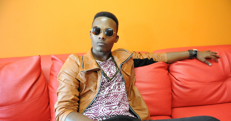Dumi Masilela, seen here during an interview on February 05, 2014.