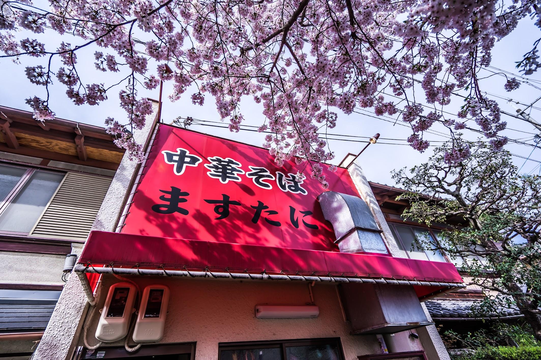 京都 中華そば ますたに1