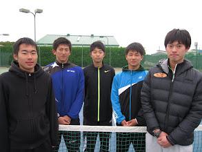 Photo: 期待の高校生(新1年生) 藪、藤井、楠原、鈴木、石澤