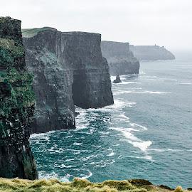 Cliffs of Moher by Shari Linger - Instagram & Mobile iPhone ( ireland, atlantic ocean, cliffs of moher, irish, travel,  )