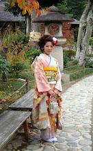 Photo: Kaunis japanilainen puistossa