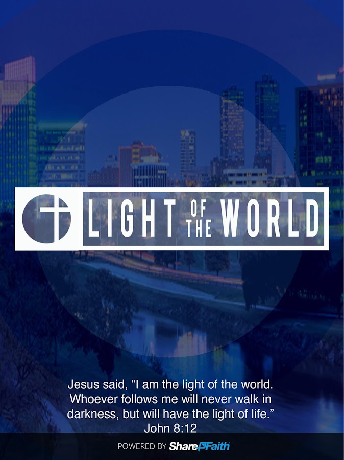 Light of the World App- screenshot