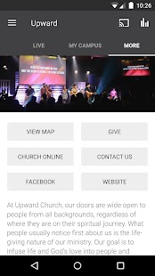 Upward Church Mobile- screenshot thumbnail