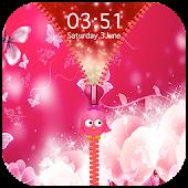 Neon Pink Zipper Lock Screen Android APK Download Free By Epoch Zipper Studio