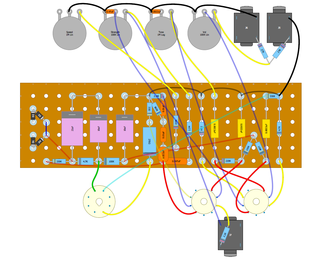 updated layout (my original with vibrato tube wires corrected)