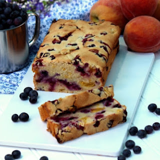 Blueberry Peach Bread