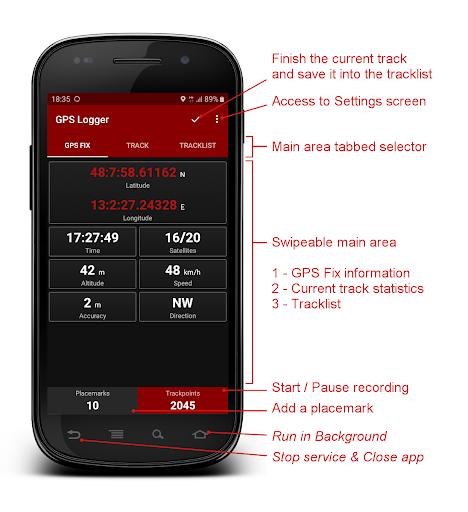 GPS Logger 2.2.5 screenshots 1
