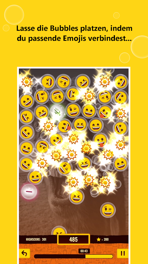 emoji town Bubble Fun- screenshot