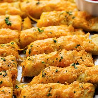 Cheesy Cheddar Garlic Breadsticks
