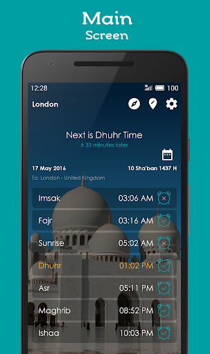 Jadwal Sholat, Kiblat dan Adzan 1.0.41 screenshots 1