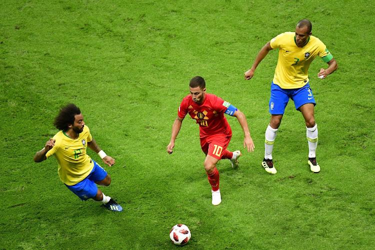Hazard Marcelo Miranda  Belgique Brésil