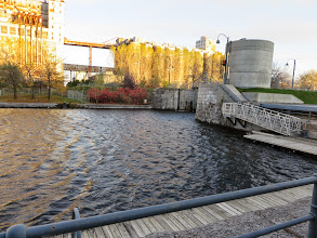 Photo: La Chine canal, built in 1825 to by-pass the rapids on the St Lawrence river