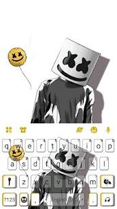 Black And White Dj Keyboard Theme 5