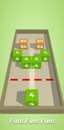 Chain Cube: 2048 3D merge game filehippodl screenshot 7