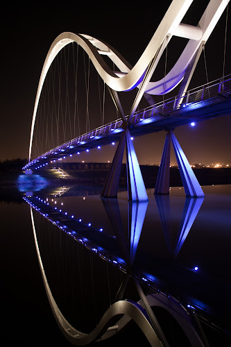 Infinity by Rob Colclough - Buildings & Architecture Bridges & Suspended Structures