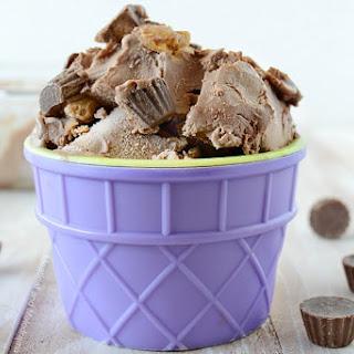No Churn Chocolate Peanut Butter Ice Cream.