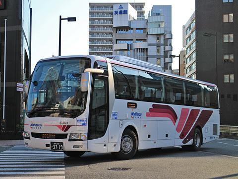 西鉄高速バス「桜島号」3137 福岡天神にて