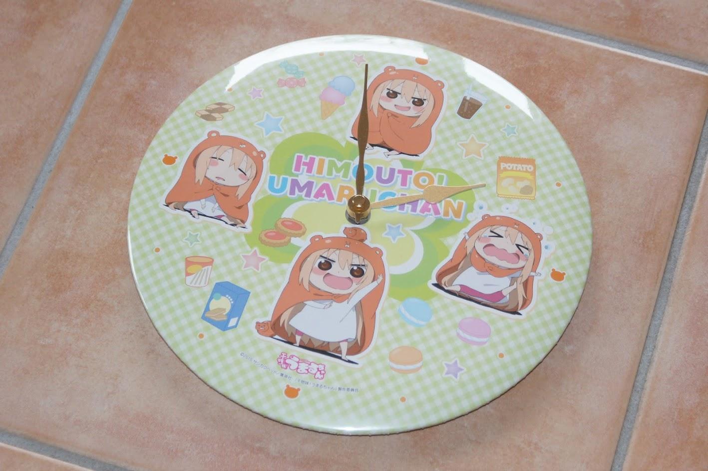 Himouto! Umaru-chan Tin Clock Uhr