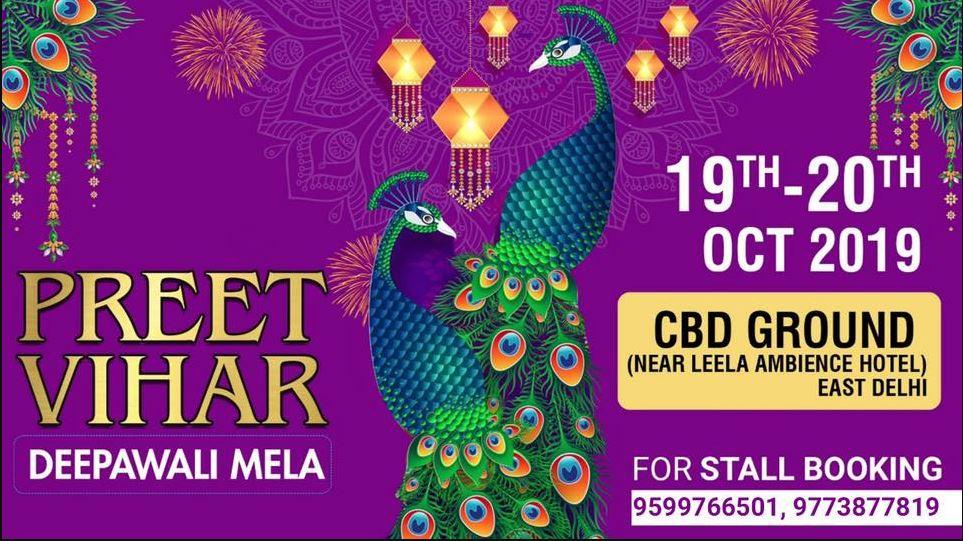 events-delhi-october-Preet_Vihar_Diwali_Mela.