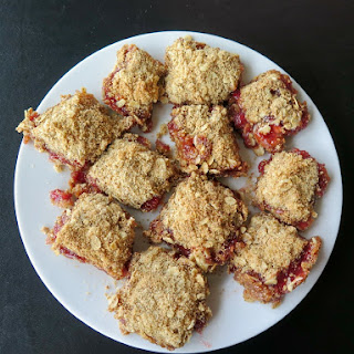 Strawberry Crumb Bars #FillTheCookieJar