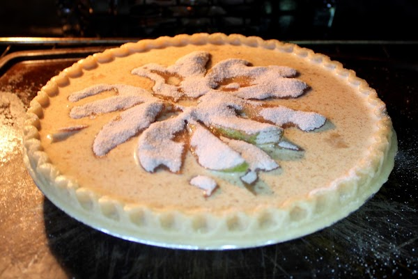 Bake for 45 minutes at 425 or until knife inserted in center comes out...