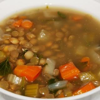 Classic Middle Eastern Lentil Soup