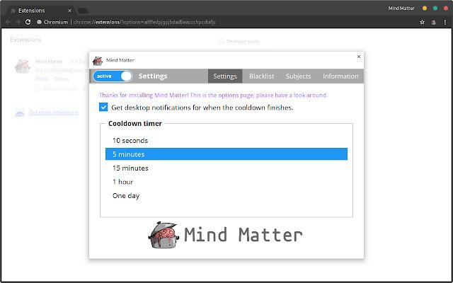 Mind Matter